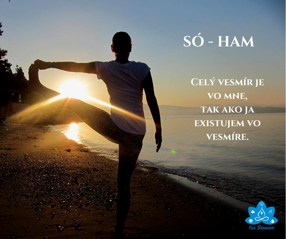 Mantra SÓ - HAM a jej účinky