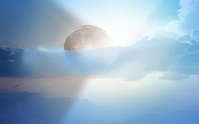 Pozdrav Mesiaca ako poďakovanie uplynulému dňu